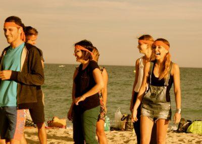 Atelier impro plage
