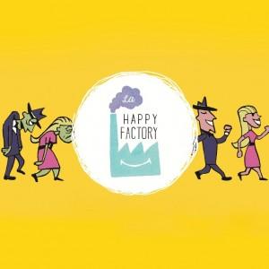 Logo happy factory