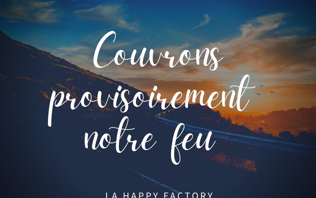 """NOUVEAU PLANNING """"Couvre feu"""""""