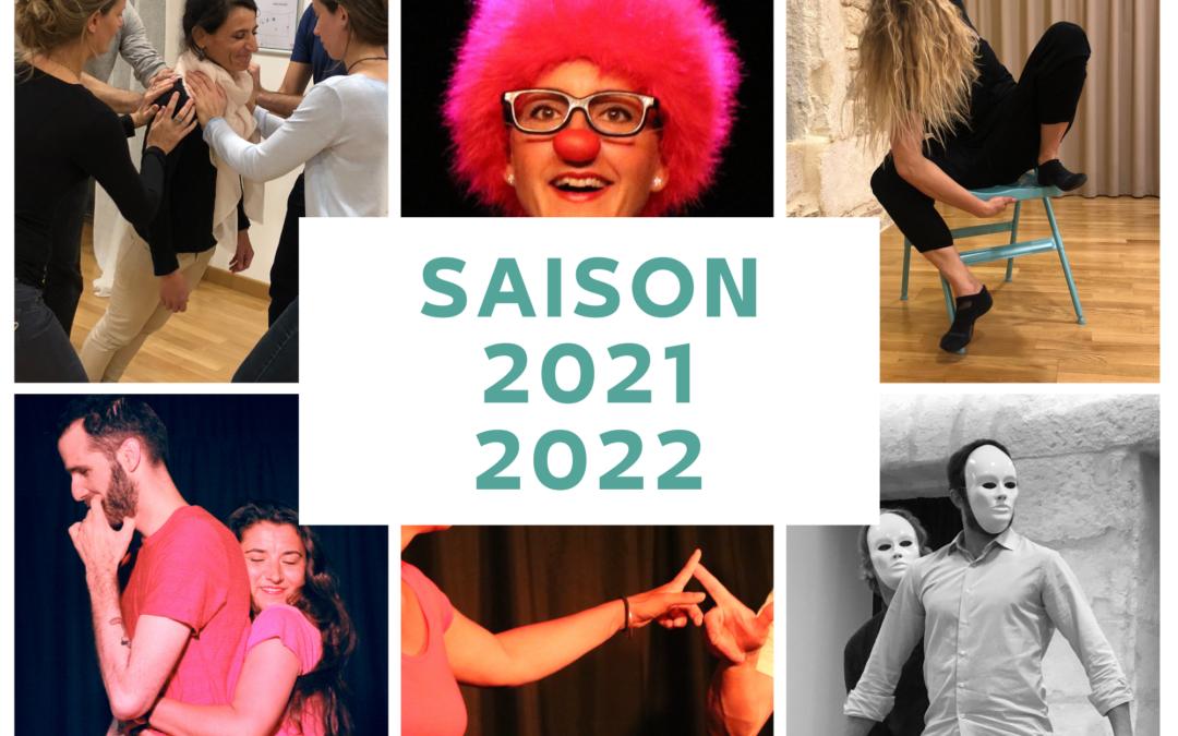 Les nouveautés de la Saison 2021 / 2022